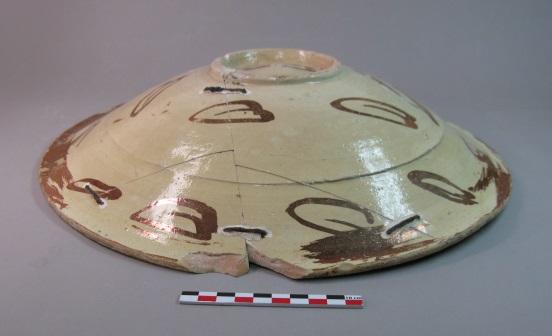 Restauration d'une céramique lustrée