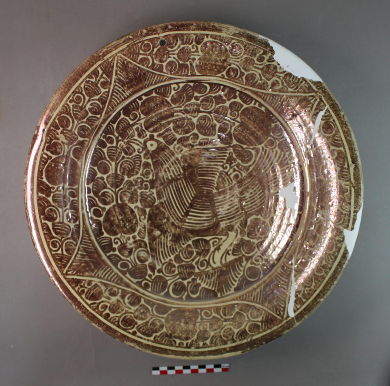 Céramique lustrée