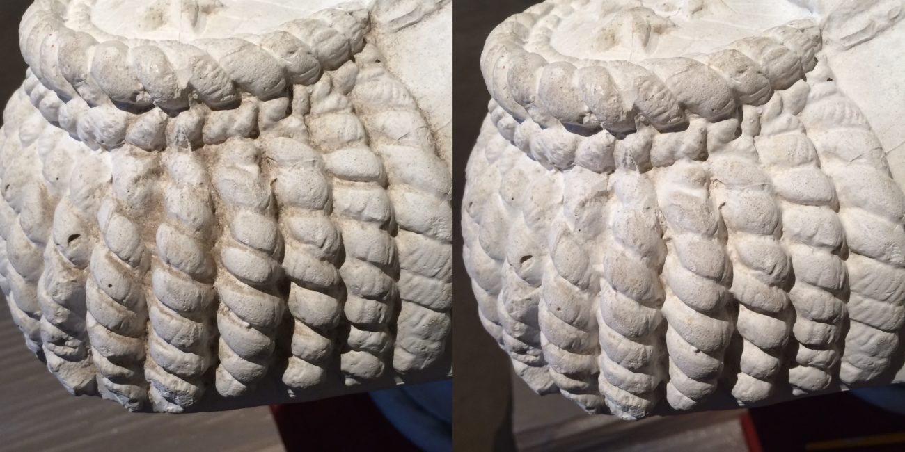 Restauration d'un buste de Louis-Philippe Ier