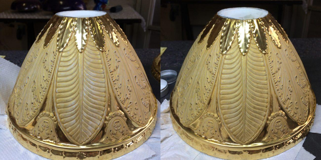 Restauration de vases en porcelaine de Paris