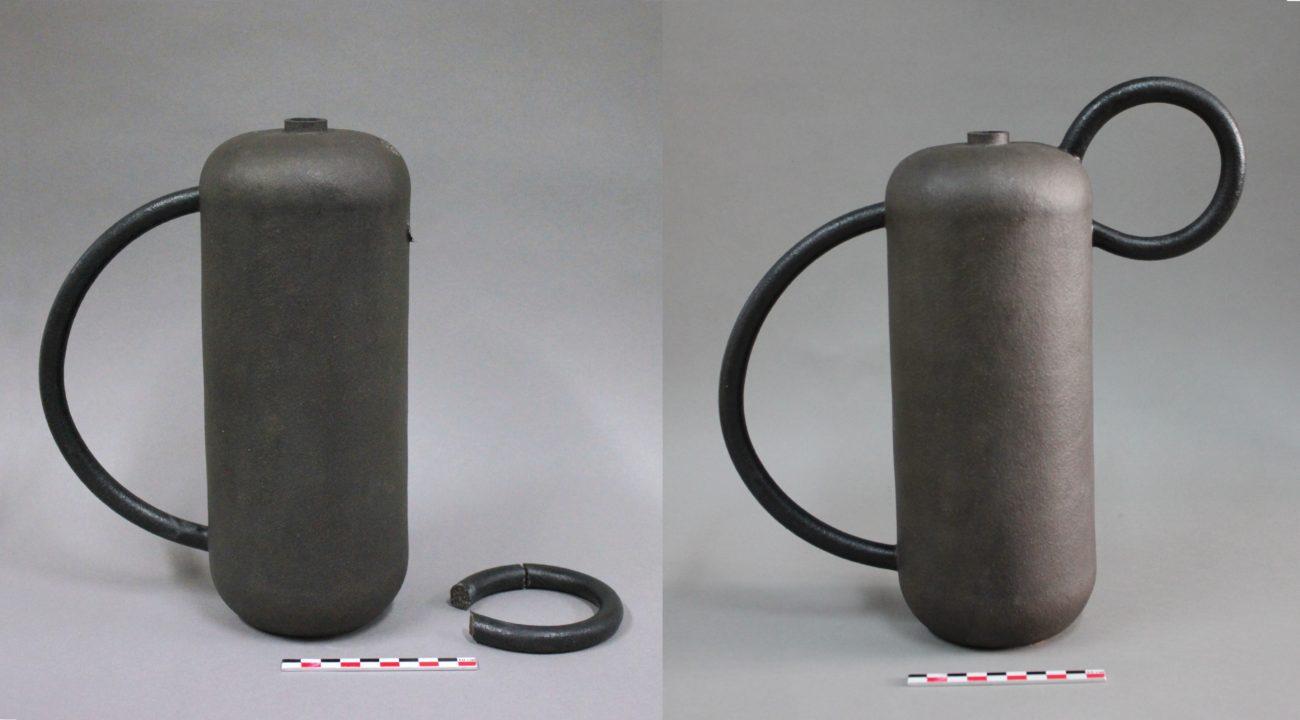 Restauration d'un vase de Jeanne Bonnefoy-Mercuriali